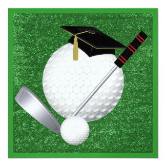 Golf  Graduation - SRF Card