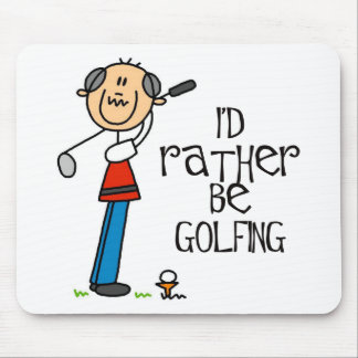 Golf Grandpa Gift Mouse Pad