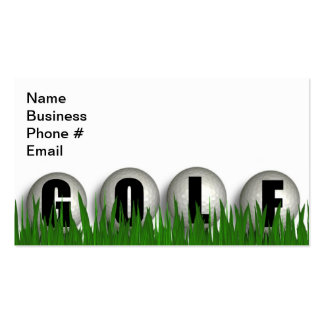 Golf Green Business Business Cards