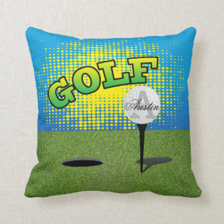 Golf  Green | DIY Text Cushion