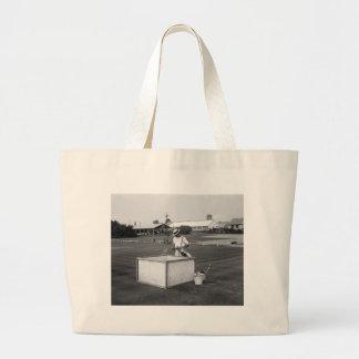 Golf Green Experiment 1929 Tote Bag