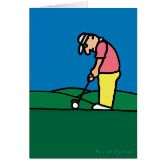 Golf Greetings 201801 Card