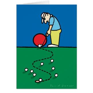 Golf Greetings 201802 Card