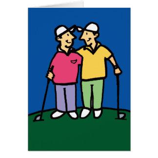 Golf Greetings 201807 Card