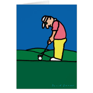 Golf Greetings 201808 Card