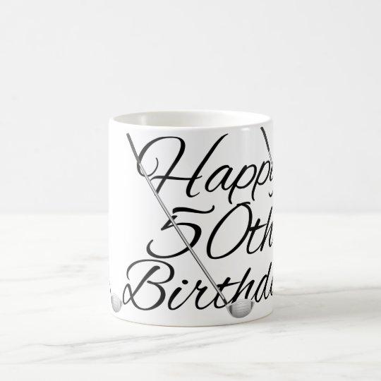 Golf Happy Birthday Coffee Mug