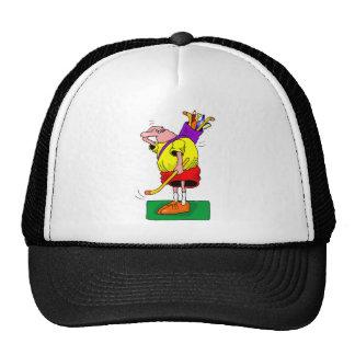 golf mesh hats