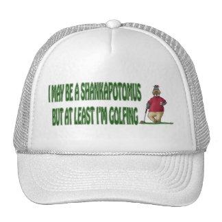 Golf Hat Shankapotomus Hippo