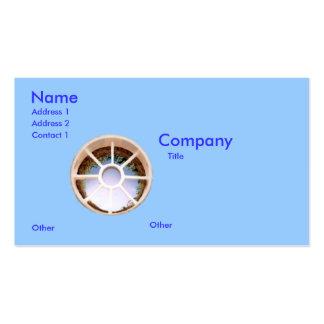 Golf Hole Business Card Template