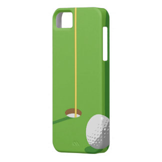 Golf Hole iPhone 5 Cases