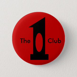 Golf - Hole in 1 Club (black) 6 Cm Round Badge