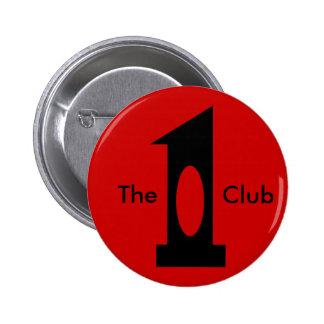 Golf - Hole in 1 Club (black) 6 Cm Round Badge