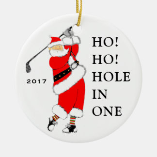 Golf Hole-in-one Christmas Ornament