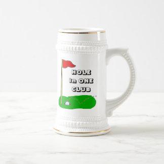 Golf Hole in One Club Custom Bragging Beer Stein