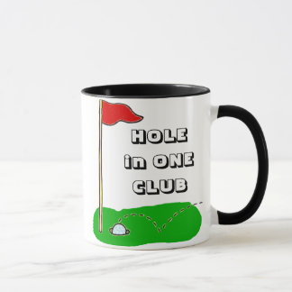 Golf Hole in One Club Custom Personalized