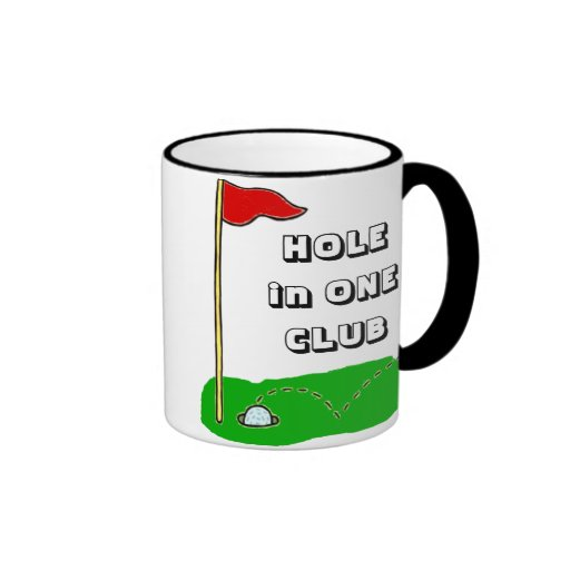 Golf: Hole in One Club Customizable Coffee Mug