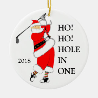 golf hole-in-one collectible christmas ornament