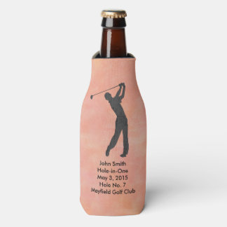 Golf Hole-in-one Commemoration Customizable Bottle Cooler