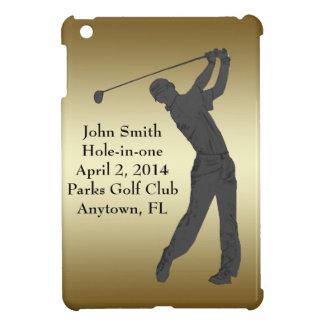 Golf Hole-in-one Commemoration Customizable iPad Mini Cover