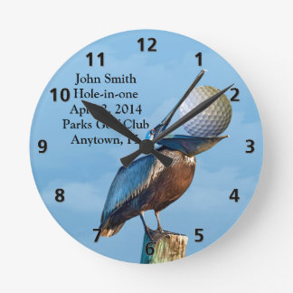 Golf Hole-in-one Commemoration Customizable Round Clock