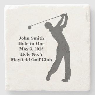 Golf Hole-in-one Commemoration Customizable Stone Beverage Coaster