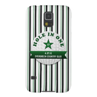 Golf Hole in One Personalized Galaxy S5 Cover