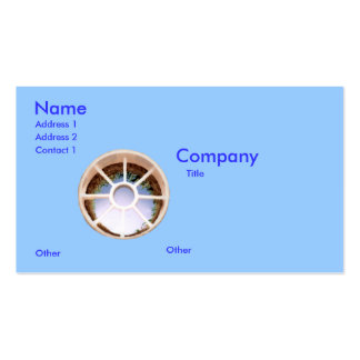 Golf Hole Pack Of Standard Business Cards