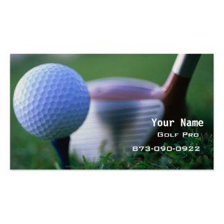 Golf Instruction Business Card