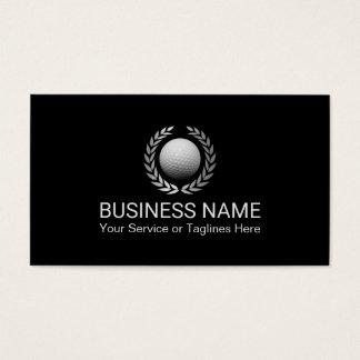 Golf Instructor Golf Club Professional Business Card