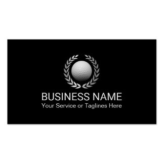 Golf Instructor Golf Club Professional Pack Of Standard Business Cards