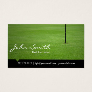 Golf Instructor Hole in One Professional