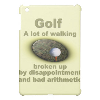 Golf is a lot of walking #2 iPad mini covers
