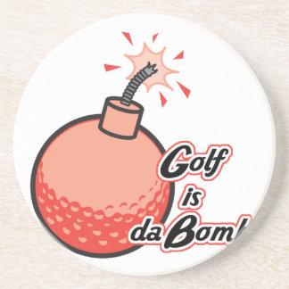 golf is da bomb coaster