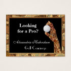 Golf is the Game Business Card