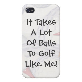 Golf- It Takes Balls iPhone 4/4S Case