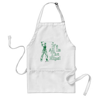 Golf - It's All In The Hips Standard Apron