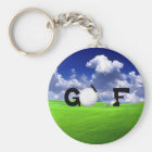 Golf Key Ring