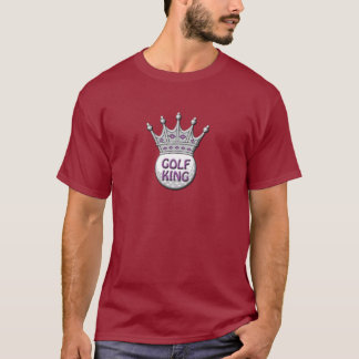 Golf King Father's Day Dadism Gift T-Shirt
