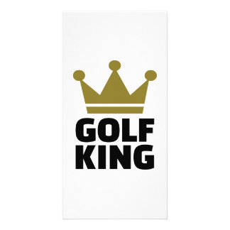 Golf King Photo Card