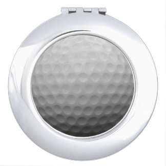 Golf Ladies Fan Gift Idea Photo Compact Mirror