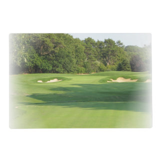 Golf Laminated Placemat