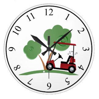 Golf Large Clock