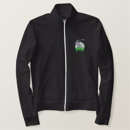 Golf Logo Embroidered Jacket