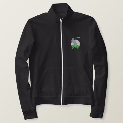 Golf Logo Embroidered Jackets