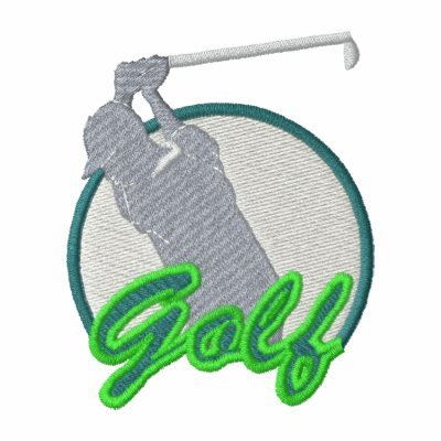 Golf Logo Track Jacket