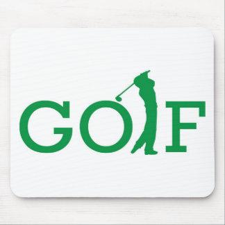 Golf Logo Mouse Pads