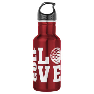 Golf Love 532 Ml Water Bottle