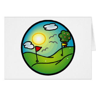 Golf Lover Greeting Card