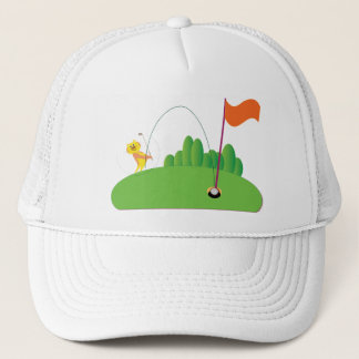 Golf Lovers:: Tiger Trucker Hat