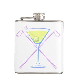 Golf Martini Hip Flask